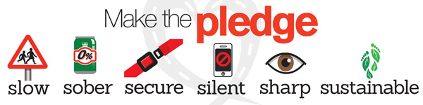 Brake Road Safety Week 2016 pledge