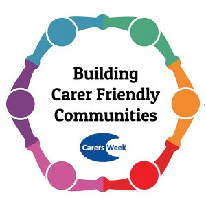 Building Carer Friendly Communities Carers week logo