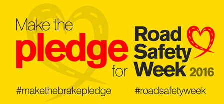 Road Safety Week 2016 logo