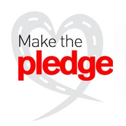 Road Safety Week 2016 - Make the Pledge logo
