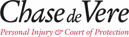 The logo of Chase de Vere Personal Injury & Court of Protection