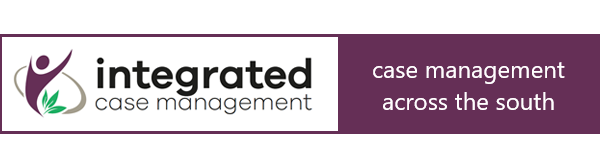 The logo of Integrated Case Management who provide case management services across the South of England
